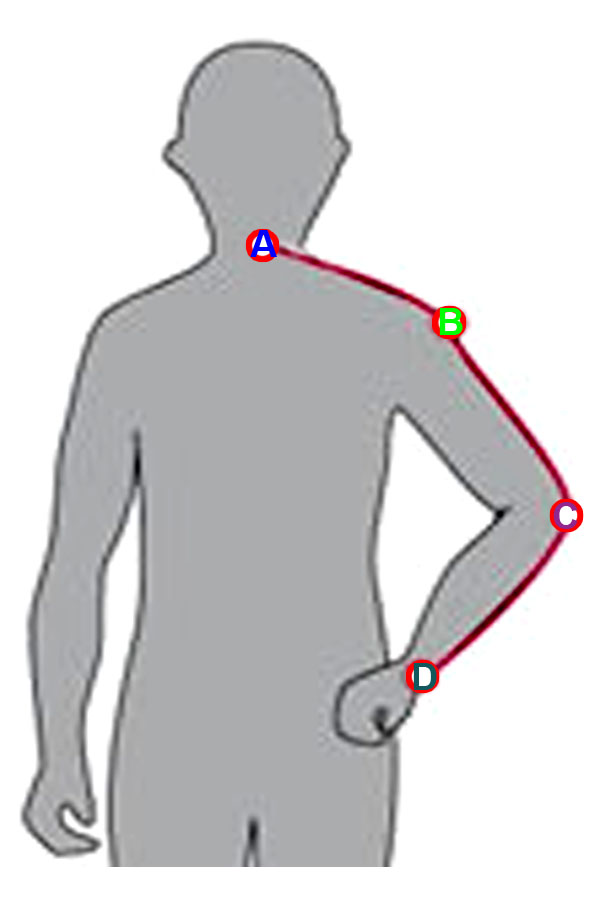 Instructions - Men's body measurements 7. Arm length The sleeve length measurement is taken from the point of your shoulder (where you took the shoulder width measurement), following your bent arm down to where you want the sleeve to trueiuptaf.gq 1! Bend your arm.