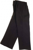 Boys' Pants Black Polyester 100152 Black