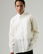 Men's Barong Cream Jusi fabric 100240 Cream
