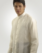 Men's Barong Cream Jusi fabric 100241 Cream