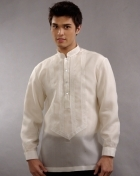 Men's Barong Cream Jusi fabric 100327 Cream