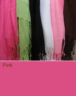100336 Pink Scarf