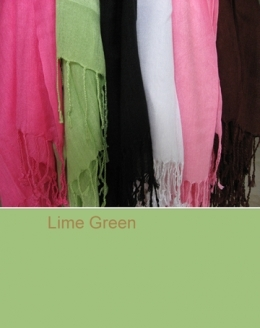 100339 Lime Green Scarf