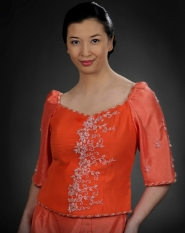 Women's Maria Clara Blouse & Skirt