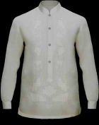 Men's Barong Cream Jusi fabric 100805 Cream