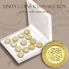 Unity Coins Keepsake Box Wedding coins box
